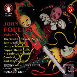 Foulds CD cover